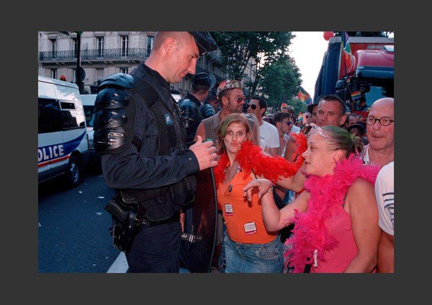 Marche des Fiertés 2012, de Montparnasse à Bastille .