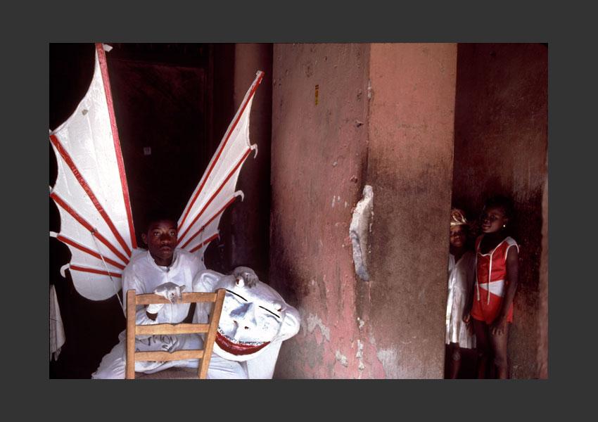 Carnaval de Jacmel, Haïti 1985.