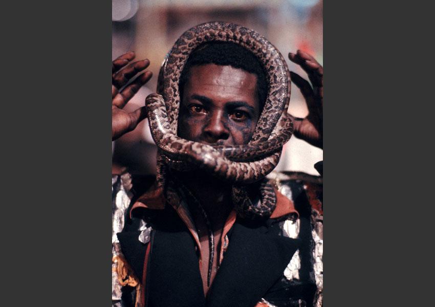 Carnaval de Port au Prince, Haïti février 1985.