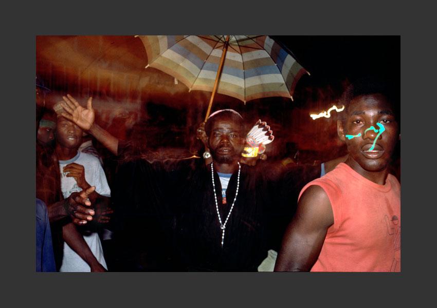 Carnaval de Port au Prince, Haïti 1985.