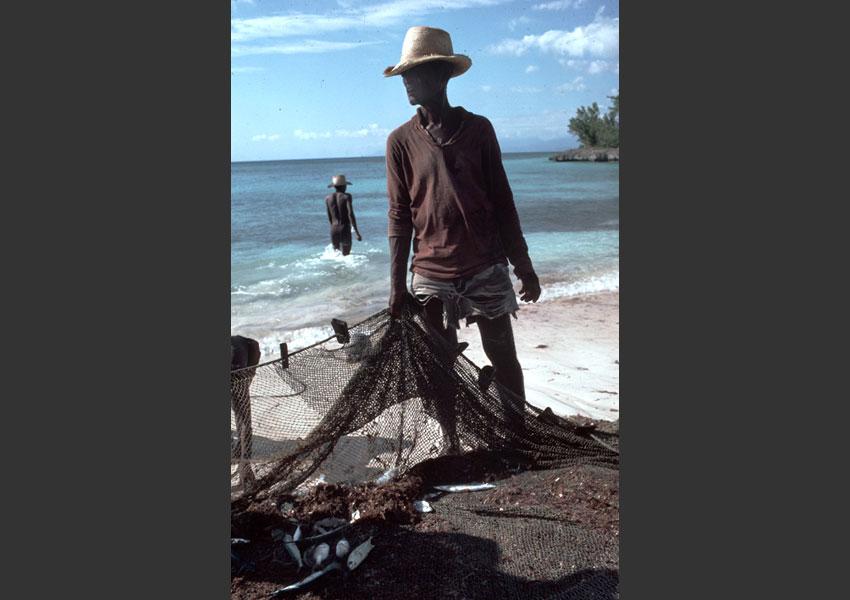 Pêcheurs, Port Salut, Haïti 1985.