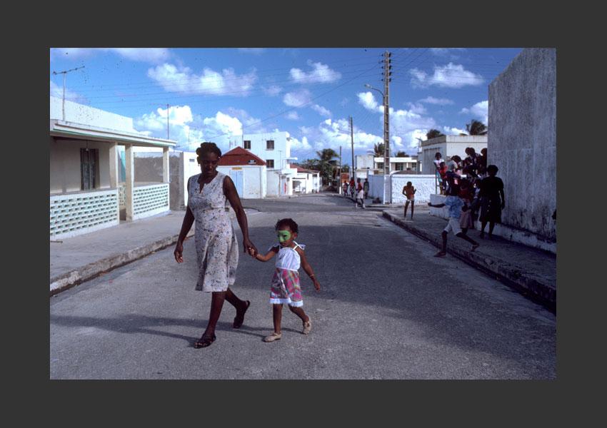 Carnaval de Capesterre, Marie-Galante février 1986.