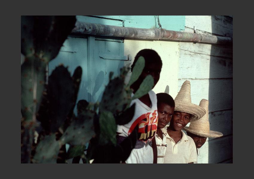 Enfants de Marie-Galante, 1985.