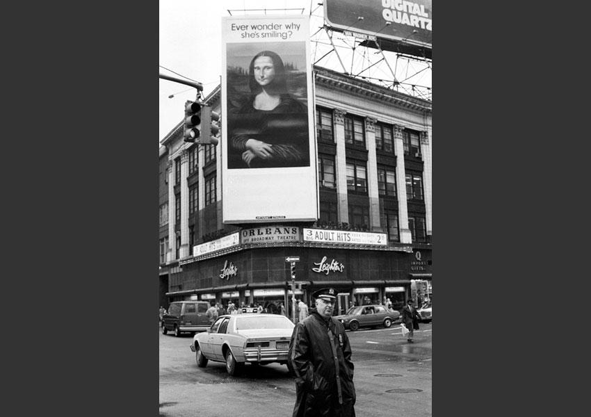 Manhattan, New York City 1981.