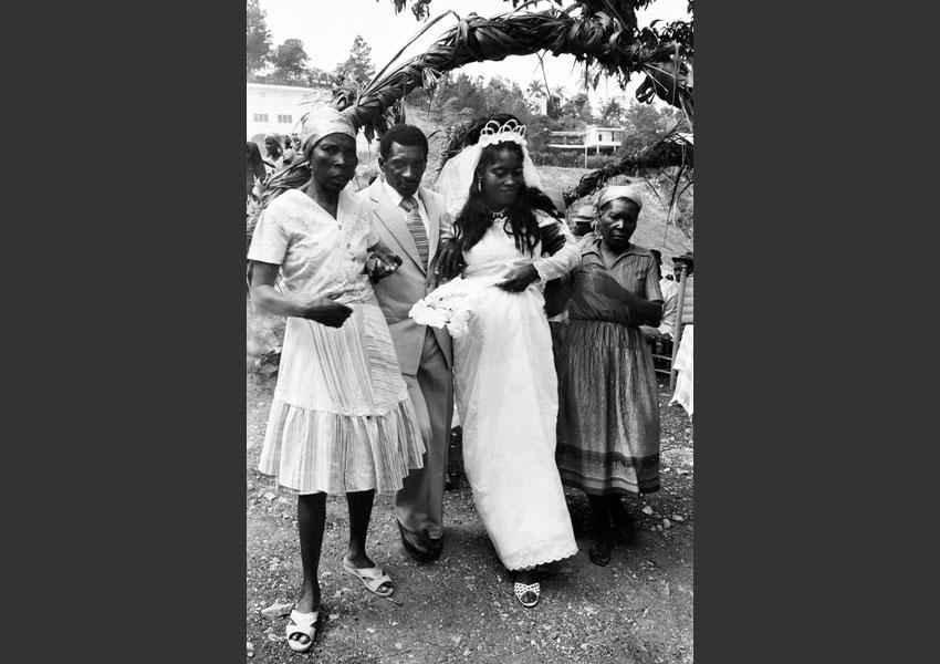 Mariage à la Boule, route de Kenscoff, Haïti 1982.