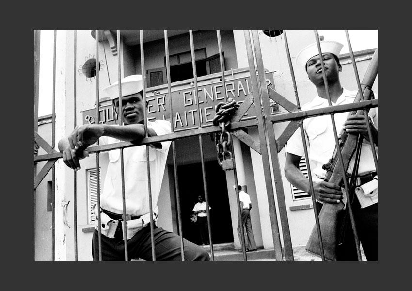 'Imprenable'. Quartier général de la Marine Haïtienne, Port-au-Prince, Haïti 1982.