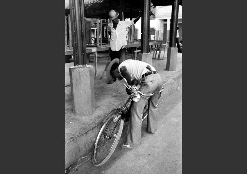Homme armé, Jacmel Haïti 1982.