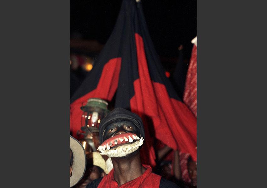 Carnaval de Port au Prince, Haïti février 1982.