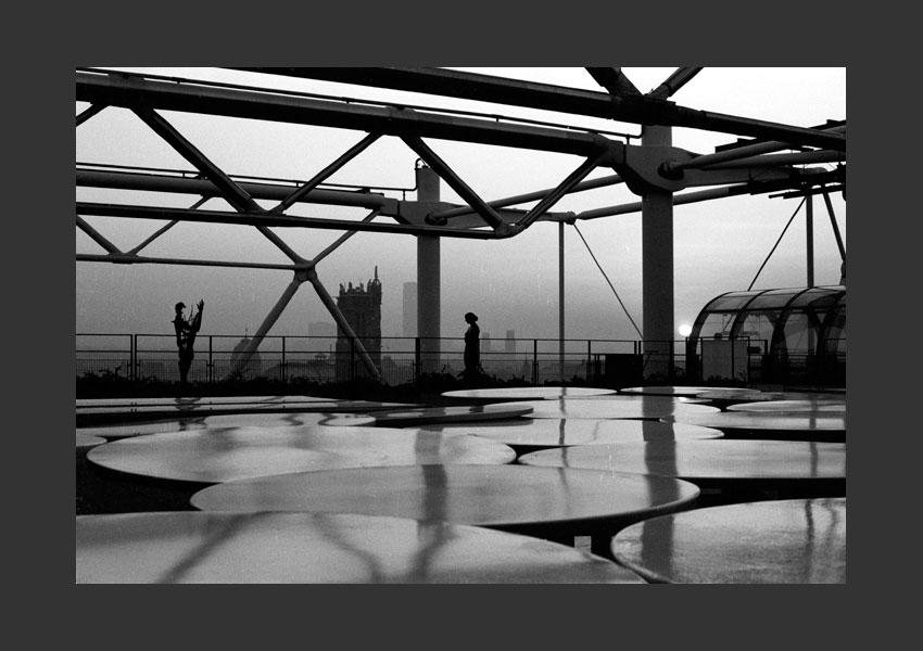 4 - Centre Georges Pompidou, les Halles, Paris 1982.