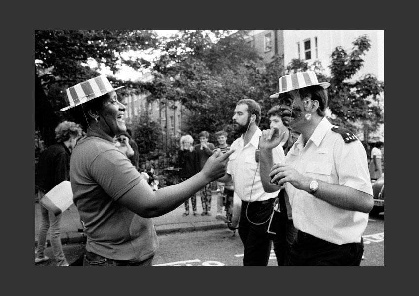 Carnaval de Notting Hill, Londres 29 et 30 août 1983.