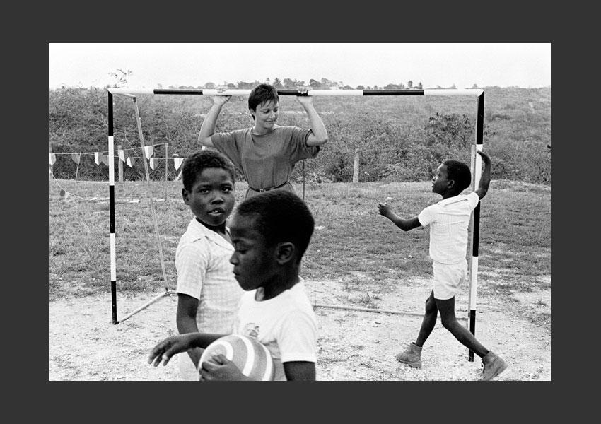Ecole de Mayolette, Marie-Galante, juin 1985.