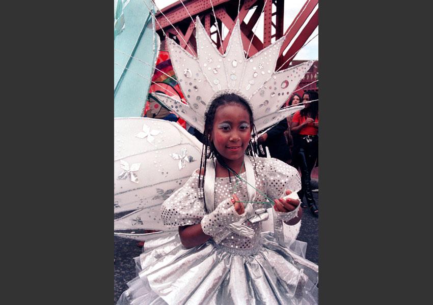 Carnaval de Notting Hill, Londres 25 et 26 août 1996.