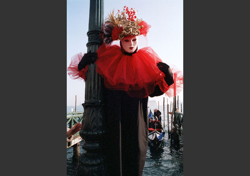 Carnaval de Venise. Italie février 1999.
