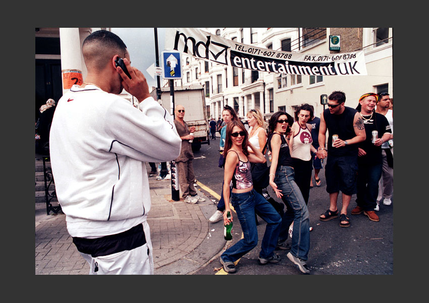 Carnaval de Notting Hill, Londres 27 et 28 août 2000.