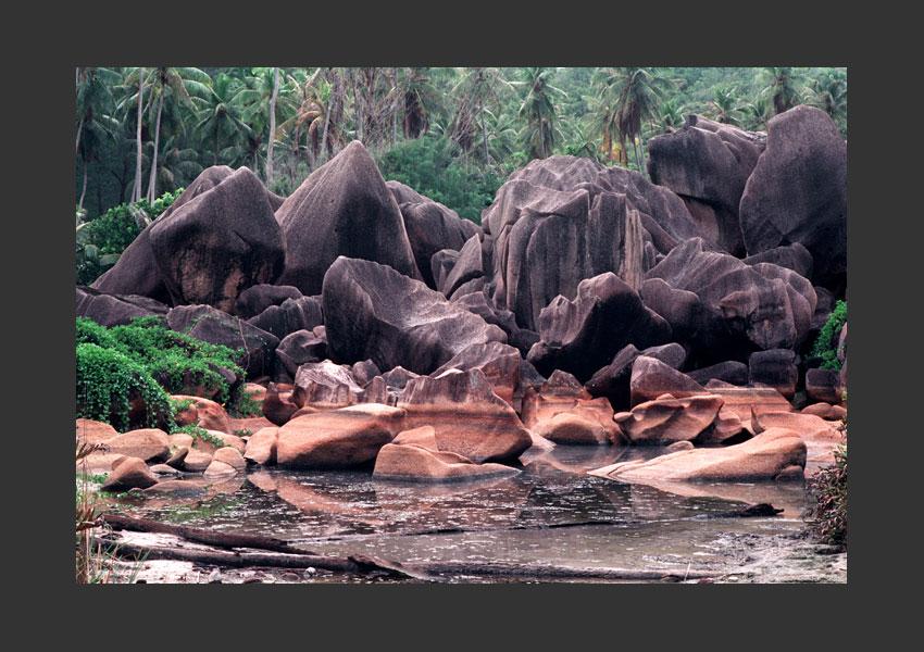 Pointe d'Argent, La Digue, Seychelles 2001.