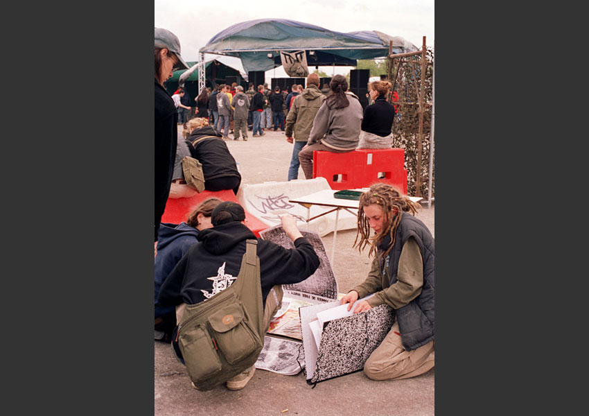 Teknival de Marigny, 3 mai 2003.