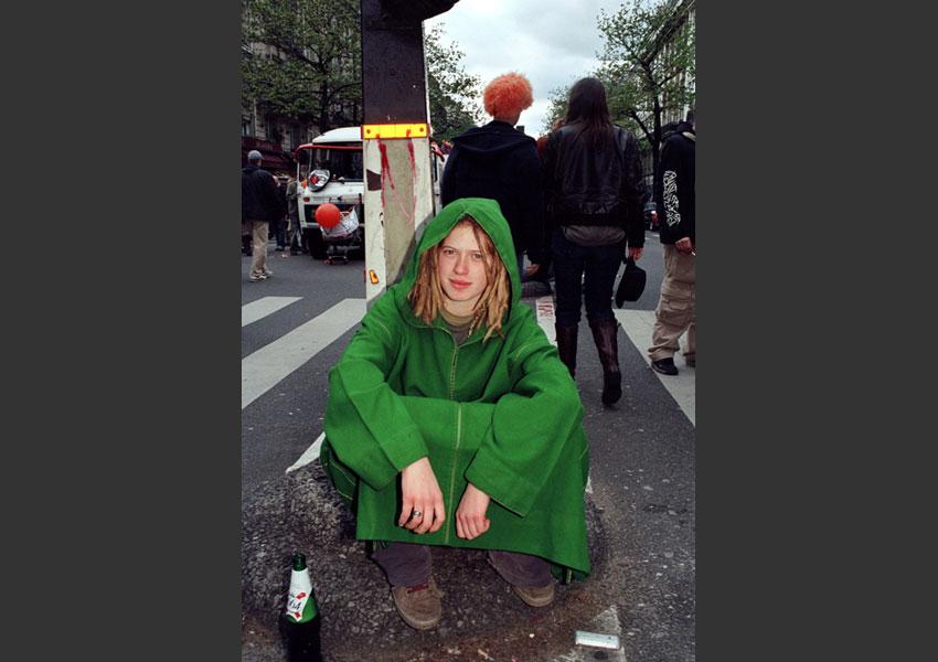 Karna(ge)val, manifestive alterculturelle. de République à Nation, Paris le samedi 9 avril 2005.