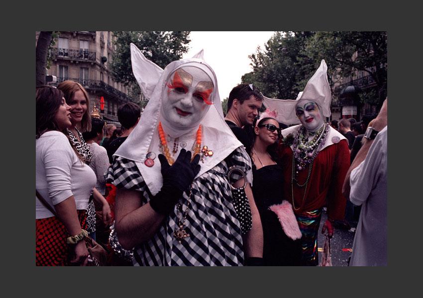 Marche des Fiertés, Montparnasse Bastille, samedi 30 juin 2007.
