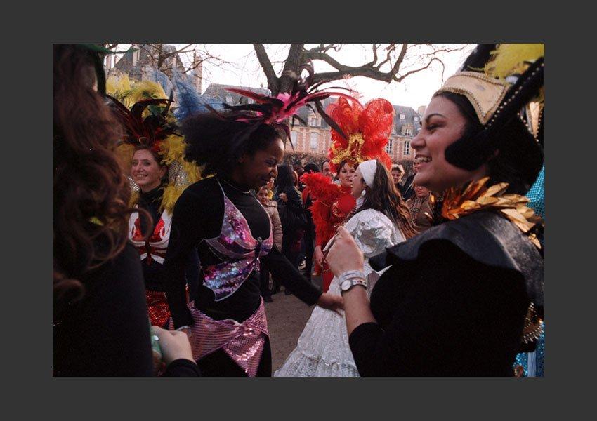 Carnaval des Femmes, place des Vosges, Paris 15 mars 2009.