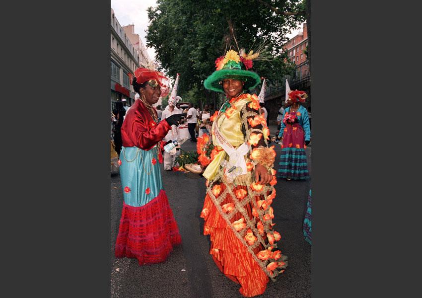 Carnaval Tropical, la Colombie à l'honneur. De Nation à la porte de Pantin, Paris le 4 juillet 2009.