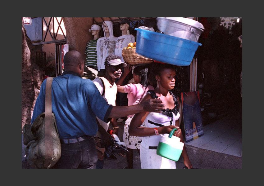 Pétionville, Haïti décembre 2009.